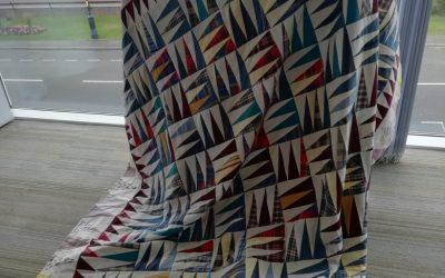 Last week Liz brought in her beautiful American quilt to inspire us.