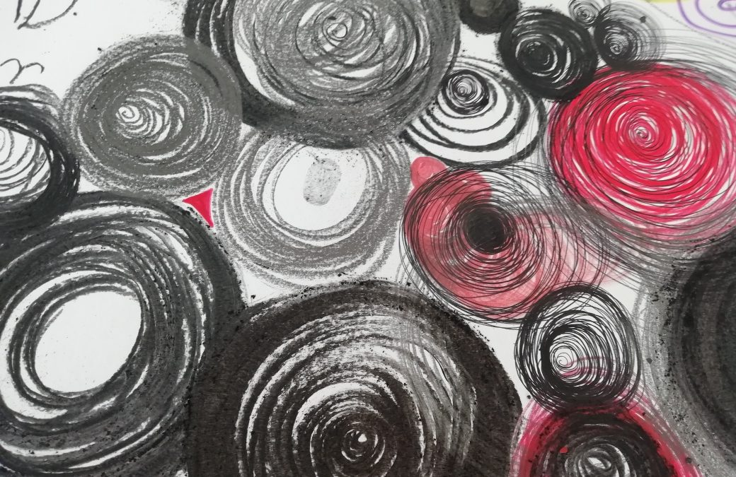 Calming and expressive spirals!